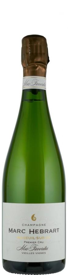 Champagne Premier Cru brut Mes Favorites Mareuil-sur-Ay Vieilles Vignes   - Hébrart, Marc