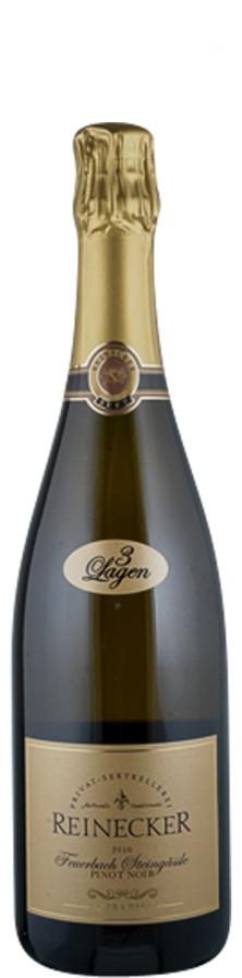 Sekt extra brut Pinot Noir Feuerbach Steingässle 2016  - Privat Sektkellerei Reinecker