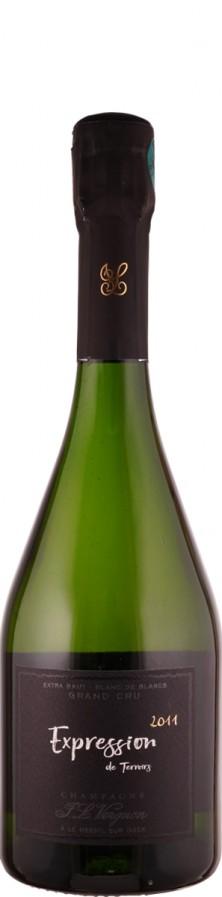 Champagne Grand Cru blanc de blancs extra brut Expression 2011  - Vergnon, J. L.