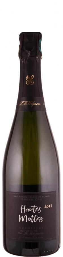 Champagne Grand Cru Millésimé blanc de blancs brut nature Hautes Mottes 2011  - Vergnon, J. L.