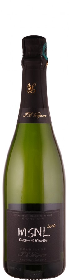 Champagne Grand Cru Millésimé blanc de blancs extra brut MSNL 2010  - Vergnon, J. L.