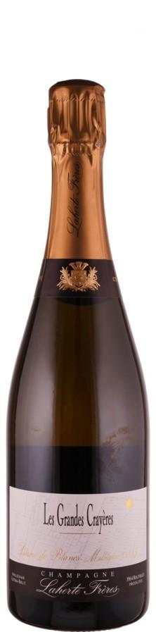 Champagne Blanc de Blancs, extra brut Les Grandes Crayères 2015  - Laherte Fréres