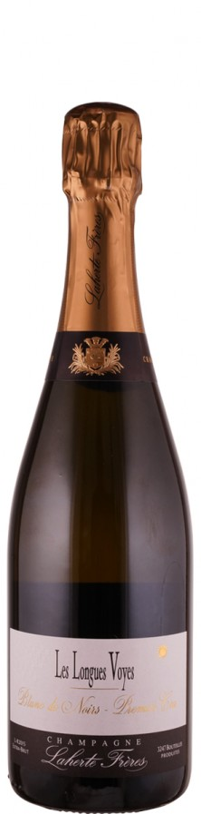 Champagne Premier Cru Blanc de Noirs, extra brut Les Longues Voyes 2015  - Laherte Frères