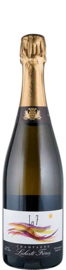 Champagne extra brut Les 7 - Solera 2005 bis 2016   - Laherte Frères