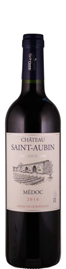 Chateau Saint-Aubin Cru Bourgeois 2016  - Saint-Aubin