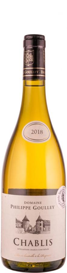 Chablis Cuvée Les Vaux Coursières 2018 Biowein - FR-BIO-01 - Goulley, Philippe