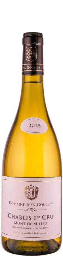 Chablis Premier Cru Mont de Milieu 2018 Biowein - FR-BIO-01 - Goulley, Jean / Goulley et Fils