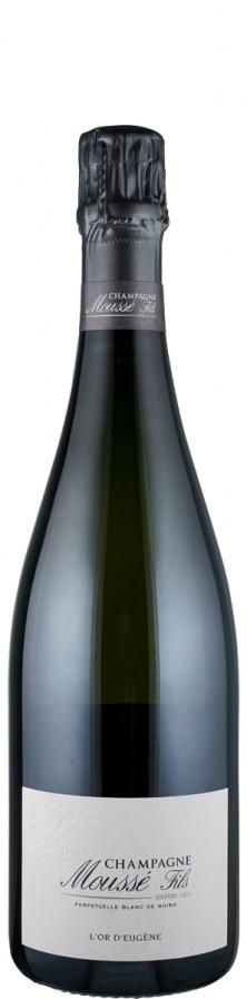 Champagne Blanc de Noirs brut L'Or d'Eugène   - Moussé Fils