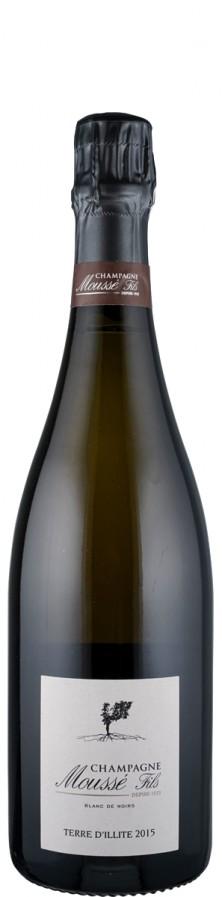 Champagne extra brut Terre d'Illite 2015  - Moussé Fils