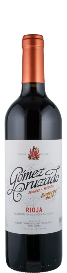Rioja Reserva  2012  - Gómez Cruzado