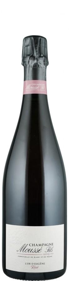 Champagne Rosé extra brut Effusion   - Moussé Fils