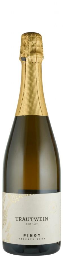 Sekt Pinot Reserve Traditionelle Flaschengärung  Biowein - DE-ÖKO-006 - Trautwein