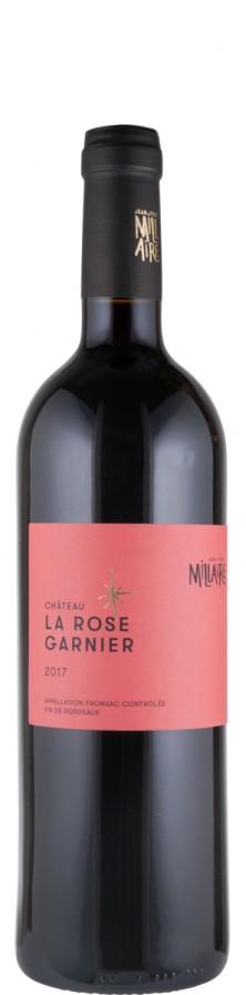 Fronsac - Bordeaux Château La Rose Garnier 2018 Biowein - FR-BIO-01 - Domaine Jean-Yves Millaire