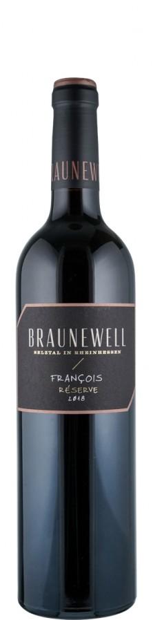 François Reserve Rotweincuvée trocken 2018  - Braunewell