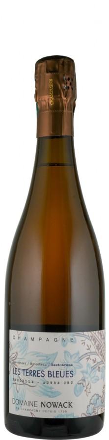 Champagne extra brut Les Terres Bleues   - Domaine Nowack