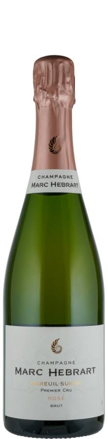 Champagne Premier Cru Rosé brut Cuvée Rosé   - Hébrart, Marc