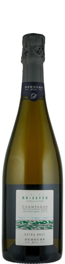 Champagne Blanc de Blancs extra brut Lieu-dit Brisefer 2012  - Dehours et Fils