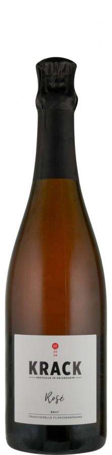 Rosé brut Traditionelle Flaschengärung 2018  - Krack