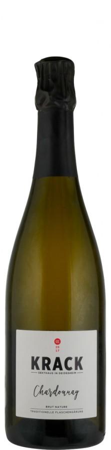 Chardonnay brut nature Sekt - traditionelle Flaschengärung 2017  - Krack