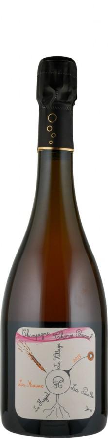 """Champagne Rosé Millésimé brut nature Lieu Dit """"La Masure"""" 2015 Biowein - FR-BIO-01 - Perseval, Thomas"""