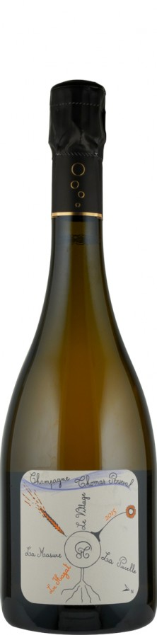 """Champagne Millésimé brut nature Lieu Dit """"Le Hayat"""" 2015 - FR-BIO-01 - Perseval, Thomas"""