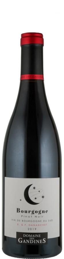 Bourgogne rouge Pinot Noir 2019  - Gandines - Florent & Benjamin Danachet