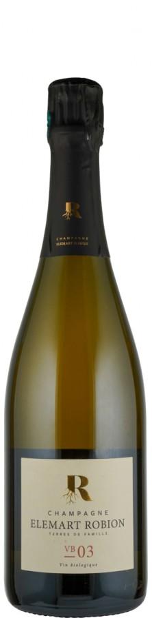 Champagne Blanc de Noirs brut nature VB 03  Biowein - FR-BIO-01 - Elemart Robion
