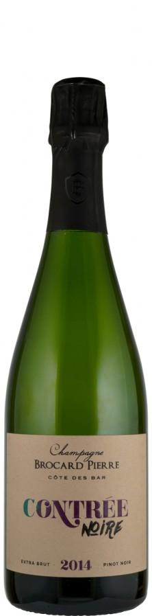 Champagne Millésimé Blanc de Noirs extra brut Contrée Noire 2014  - Brocard Pierre