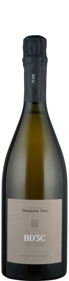 "Champagne brut nature ""3C""- trois cepages  Biowein - FR-BIO-01 - Bourgeois Diaz"