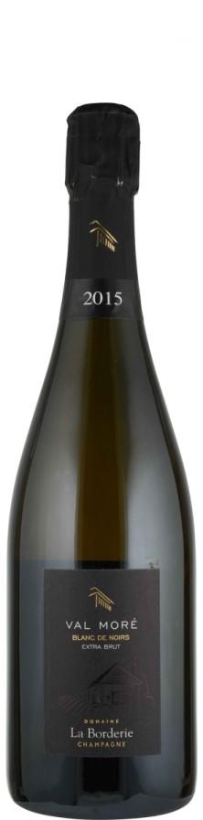 Champagne Blanc de Noirs Millésimé extra brut Cuvée Val Moré 2015  - La Borderie