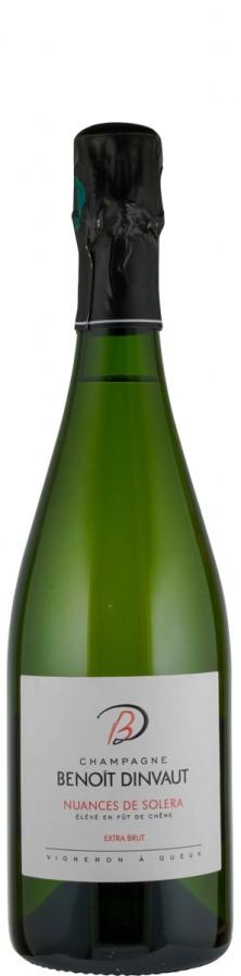 Champagne extra brut Nuances de Solera   - Dinvaut, Benoit