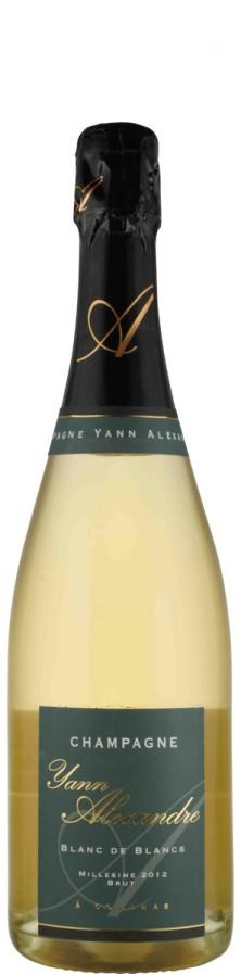 Champagne Blanc de Blancs Millésimé brut  2012  - Alexandre, Yann