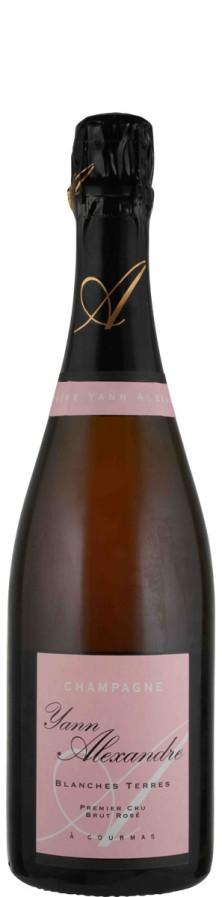 Champagne Premier Cru Rosé brut Blanches Terres   - Alexandre, Yann