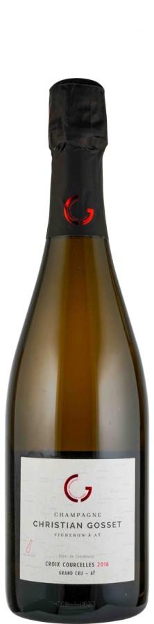 Champagne Grand Cru Millésime Blanc de Blancs extra brut Croix-Courcelles 2016  - Gosset, Christian