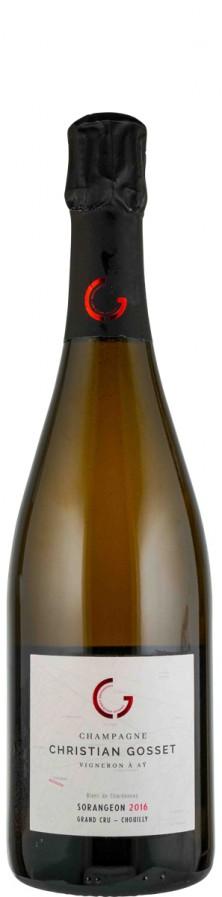 Champagne Grand Cru Millésime Blanc de Blancs brut nature Sorangeon 2016  - Gosset, Christian
