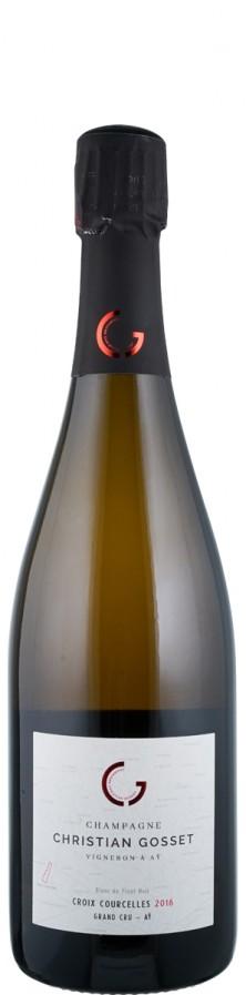 Champagne Grand Cru Millésime Blanc de Noirs extra brut Croix-Courcelles 2016  - Gosset, Christian