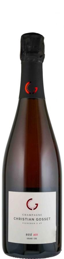 Champagne Grand Cru Rosé brut extra brut A01   - Gosset, Christian