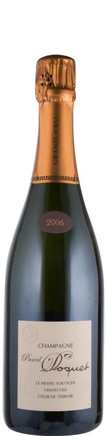 Champagne Blanc de Blancs Grand Cru brut Le Mesnil sur Oger 2006  - Doquet, Pascal