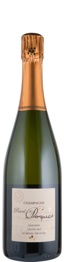 Champagne Blanc de Blancs Grand Cru extra brut Le Mesnil sur Oger - Diapason  Biowein - FR-BIO-01 - Doquet, Pascal