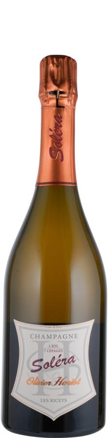 Champagne brut nature Soléra - 1 Sol, 7 Cépages  Biowein - FR-BIO-01 - Horiot, Olivier
