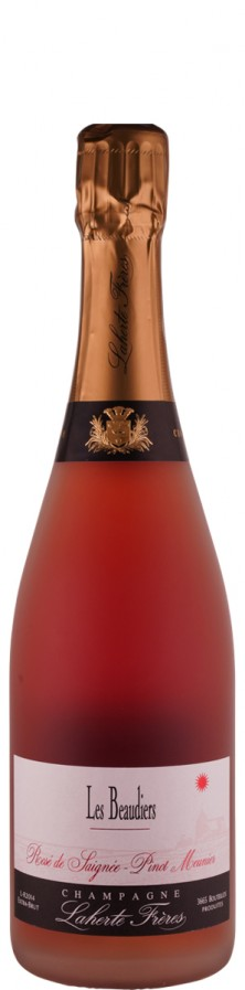 Champagne Rosé de Saignée extra brut Les Beaudiers   - Laherte Frères