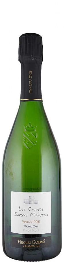 Champagne Premier Cru Millésime Blanc de Noirs extra brut Les Champs Saint Martin 2011  - Godmé, Hugues