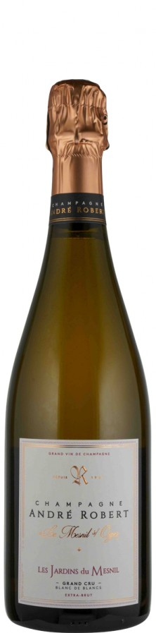 Champagne Grand Cru Blanc de Blancs extra brut Les Jardins du Mesnil   - Robert, André