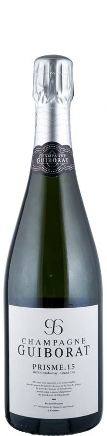 Champagne Grand Cru Blanc de Blancs extra brut Prisme 15   - Guiborat