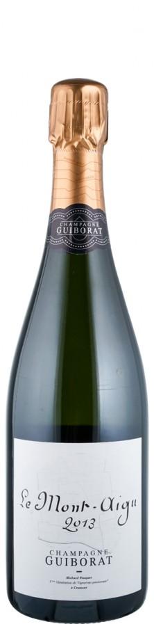 Champagne Grand Cru Millésimé Blanc de Blancs brut nature Le Mont Aigu 2013  - Guiborat