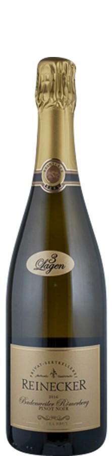 Sekt extra brut Pinot Noir Badenweiler Römberger 2016  - Privat Sektkellerei Reinecker