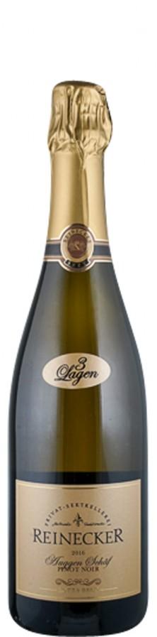 Sekt extra brut Pinot Noir Auggen Schäf 2016  - Privat Sektkellerei Reinecker