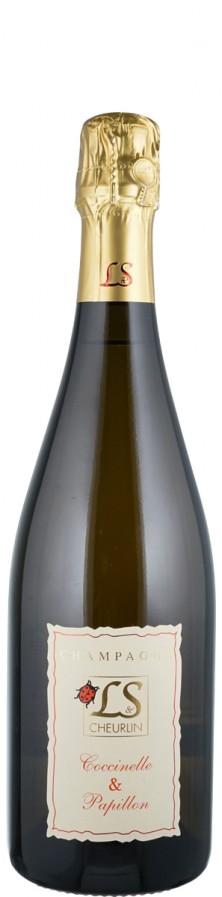 Champagne extra brut Cocinelle & Papillon  Biowein - FR-BIO-01 - Cheurlin, L&S