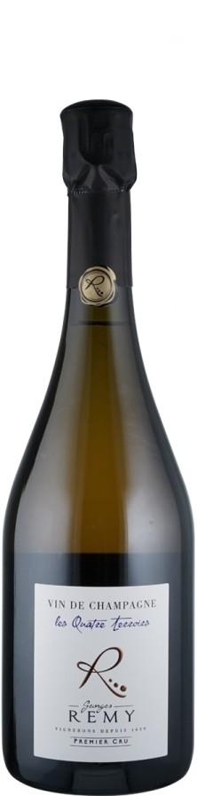 Champagne Premier Cru extra brut Les Quatre Terroirs   - Remy, Georges