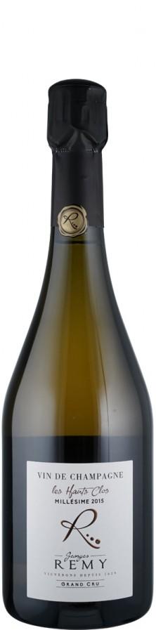Champagne Grand Cru Blanc de Noirs brut nature Les Hauts Clos 2015  - Remy, Georges